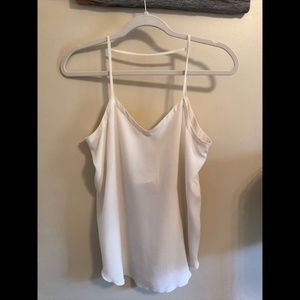 Chaser White Tank Top